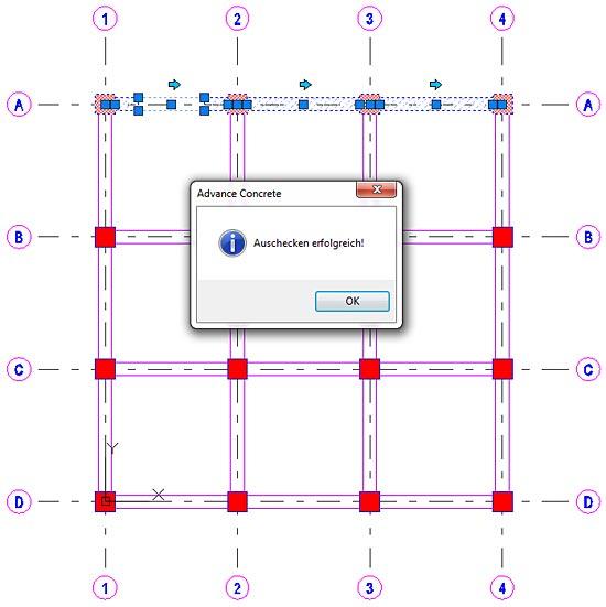 Wie werden Elemente in einer Multi-User-Umgebung verwaltet?