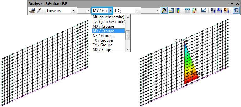 Comment modéliser les poteaux aux extrémités d'un voile