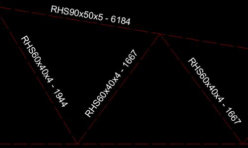 Cum se creează un detaliu care să conţină axele elementelor, etichete cu numele secţiunii, lungimea şi cote ce măsoară distanţa între noduri