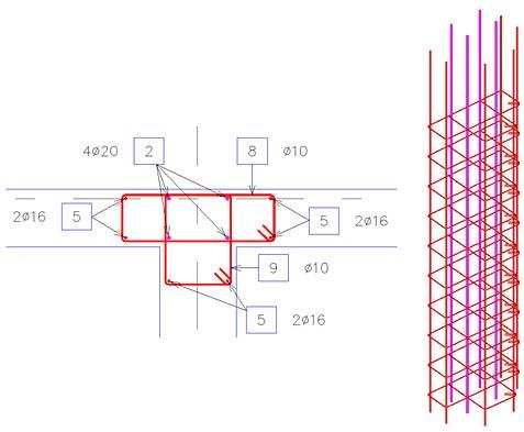 Cum se utilizează soluţiile de armare dinamică pentru intersecţii de pereţi