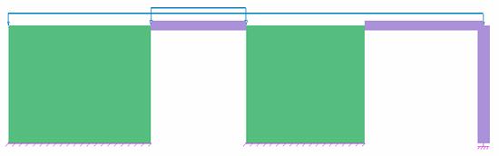 Cum se modelează legătura rigidă dintre o grindă şi un perete