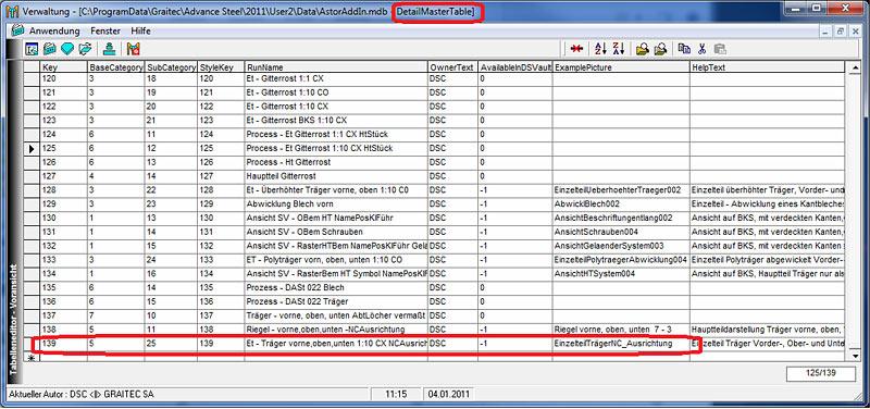 Wie können eigene Zeichnungsstile, Prozesse und Stücklistenvorlagen in Advance Steel 2011 in die 'schnellen Dokumente' integriert werden