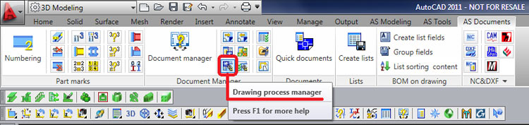 How are user drawing styles, processes and BOM templates integrated in 'Quick Documents'
