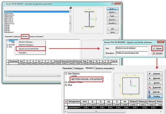 Comment configurer l'optimisation des sections