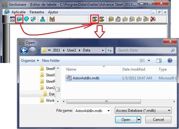 Cum se configurează haşura folosită de vederile automate / manuale în detalii