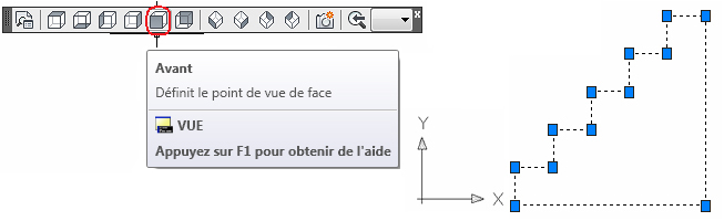 Comment créer un voile à palier avec en utilisant des ouvertures ou un solide 3D ?