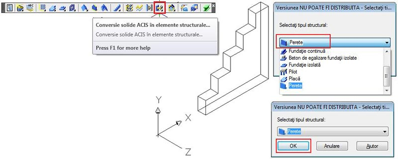 Cum se creează un zid în trepte cu ajutorul golurilor sau cu ajutorul solidelor 3D