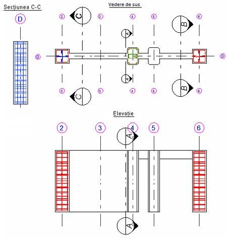 Cum se copiază carcasa de armatură 3D pentru elemente cu acelaşi tip de armare