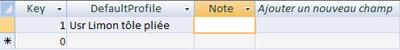 Comment ajouter une section utilisateur comme limon dans la macro Escalier