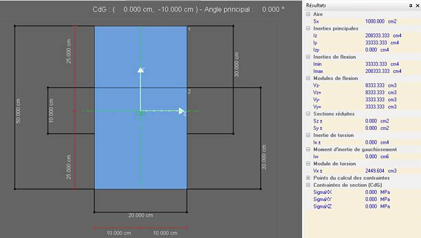 Comment utiliser la fonction 'Découper contours' dans le module Section