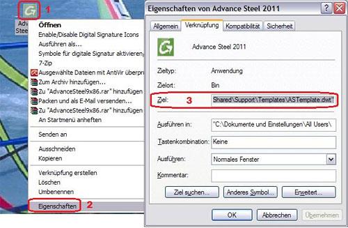 Was ist zu beachten, um Advance Steel 2011 unter Autodesk Mechanical 2011 zu nutzen