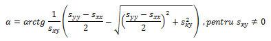 Care este convenţia rezultatelor tensiunilor pe elementele plane