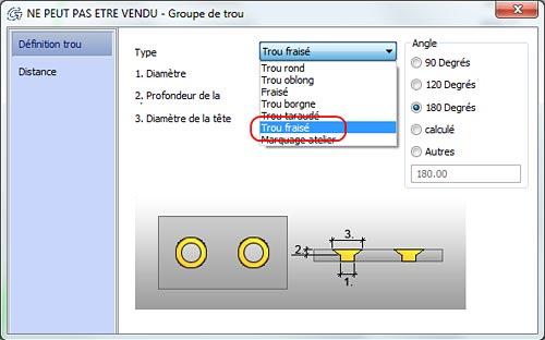 Comment réaliser des trous lamés et des trous oblongs circulaires avec Advance Steel