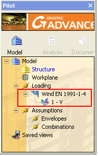 How are wind loads automatically generated?