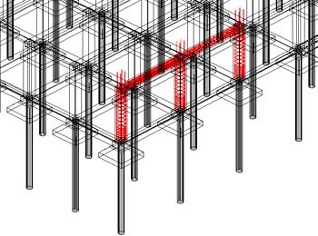 Cum se convertesc carcasa de armare şi elementele de cofraj în solide 3D pentru a le exporta într-un singur fişier dwf