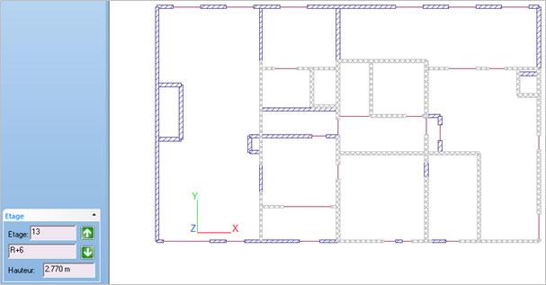 Comment utiliser l'option : Visualiser les impacts des étages supérieurs ? »?