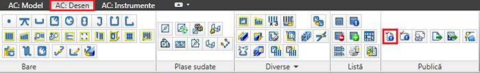 Care sunt diferenţele dintre comenzile 'activează şi actualizează structura' şi 'activează şi actualizează tot'