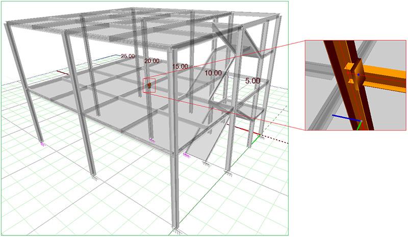 Cum se generează diferitele tipuri de rapoarte de calcul în Advance Design Steel Connection?