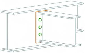 Cum se definesc cazurile de încărcare şi combinaţiile acestora în Advance Design Steel Connection?