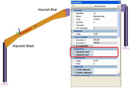 How Can I Create Haunches For Steel Beams Graitec