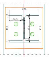 Cum sunt considerate sudurile în Advance Design Steel Connection?