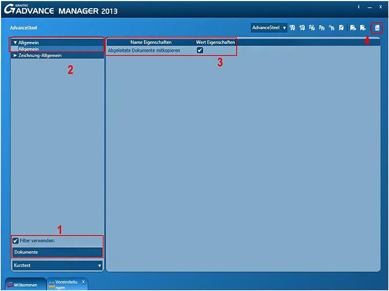Wie können die von einem Modell abgeleiteten Dokumente mit dem Befehl 'Speichern unter...' kopiert werden?