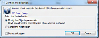 How to add an 'Object presentation' to a drawing style in Autodesk® Advance Steel 2015