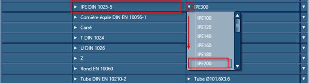 Comment changer la section utilisée par défaut quand un profil est créé ?