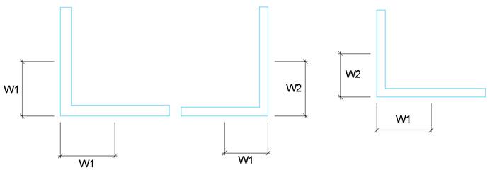 Comment changer la ligne de trusquinage pour les cornières dans Advance Steel ?