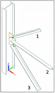 Cum se definesc încărcări pentru îmbinări cu mai multe elemete secundare, în Advance Design Steel Connection?