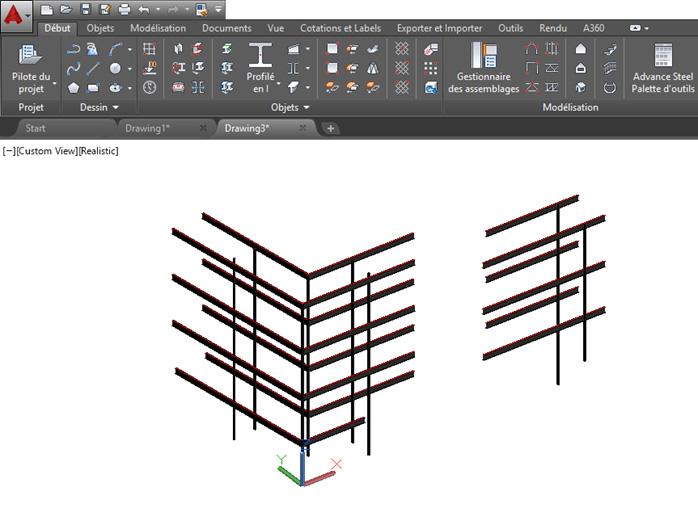 Comment faire un export d'Advance Design vers Advance Steel ?