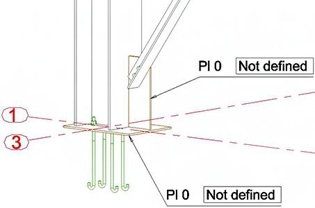 Wie kann der Anschlussname in einer bereits vorhandenen Ansicht in Advance Steel angezeigt werden?