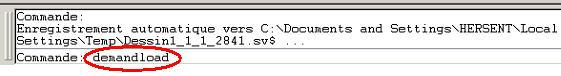 Comment ouvrir dans AutoCAD seul, un plan 'décomposé' provenant de Advance Métal