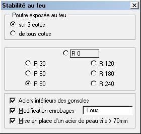 Comment est effectué le calcul de résistance au feu aux Eurocodes ?