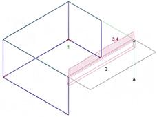 Comment gérer les dalles en porte à faux dans Arche Ossature en descente de charge traditionnelle ?