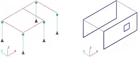 Comment gérer les ouvertures alignées avec un bord de voile ?