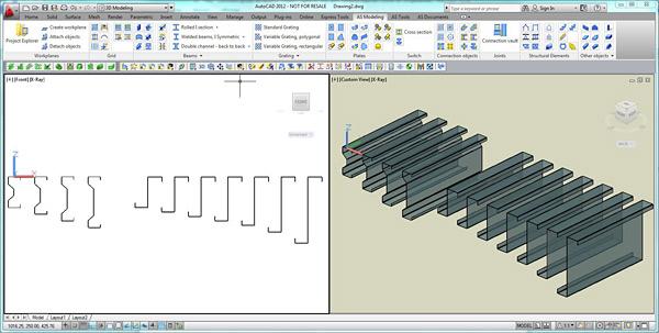 Comment ajouter les sections JORISIDE Sigma® et JORISIDE Zeds® dans Advance Steel ?