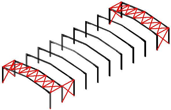 Comment décaler une palée de stabilité