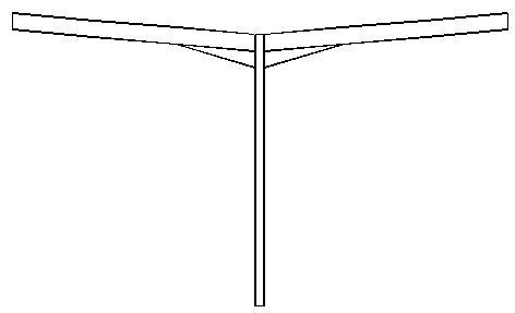 Pourquoi l'édition des réactions pour un auvent symétrique avec MELODY Portique ne donne pas les mêmes combinaisons qu'avec MELODY Attaches
