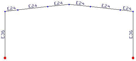 Comment afficher le nom du matériau de chaque barre