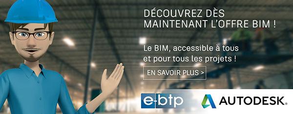GRAITEC |  Autodesk offre « BIM e-btp »