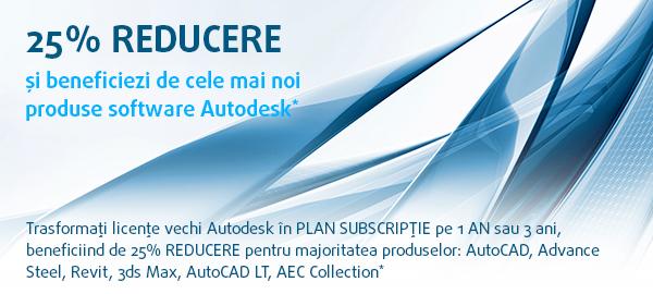 GRAITEC | Promo Autodesk - 25% REDUCERE