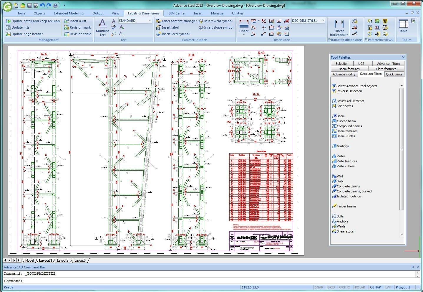 Autodesk Advance Steel - GRAITEC Turkey - Graitec