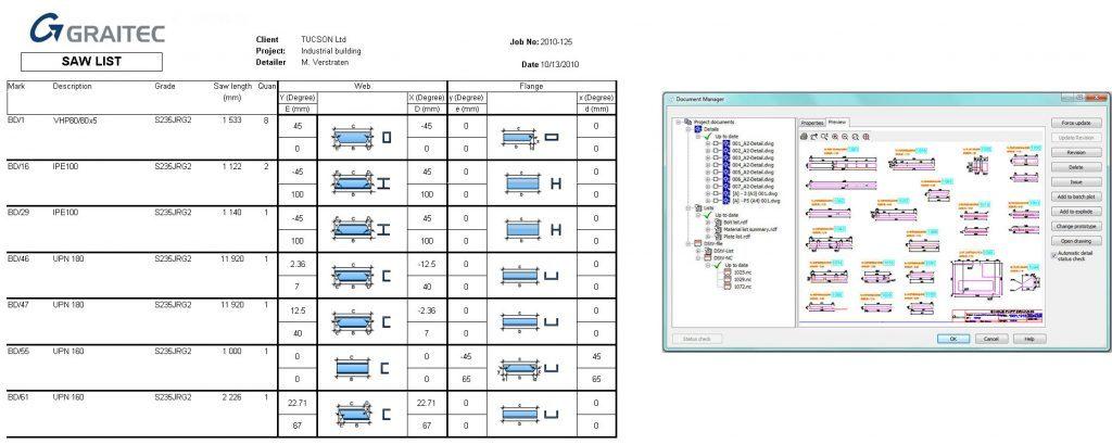 GRAITEC Autodesk Advance Steel | Document management