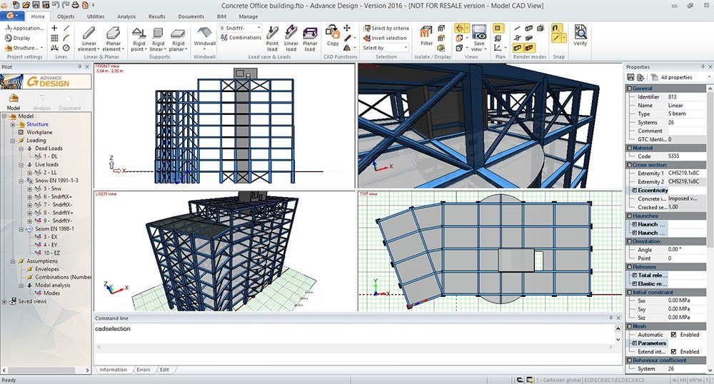 GRAITEC Advance Design - Fast and easy modeling