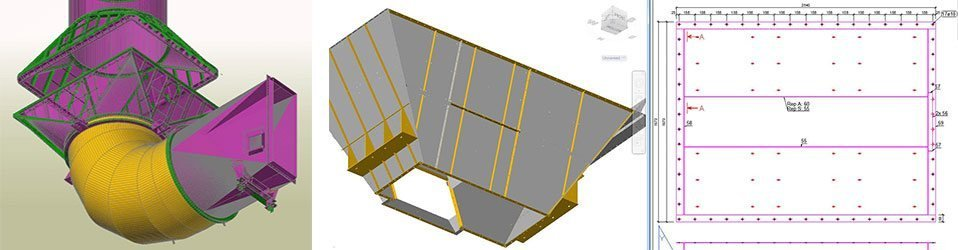 GRAITEC Autodesk Advance Steel | Sheet & plate metal work