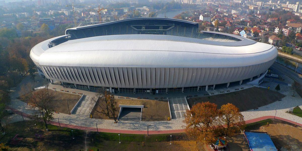 Cluj Arena Stadium, Cluj-Napoca, Romania