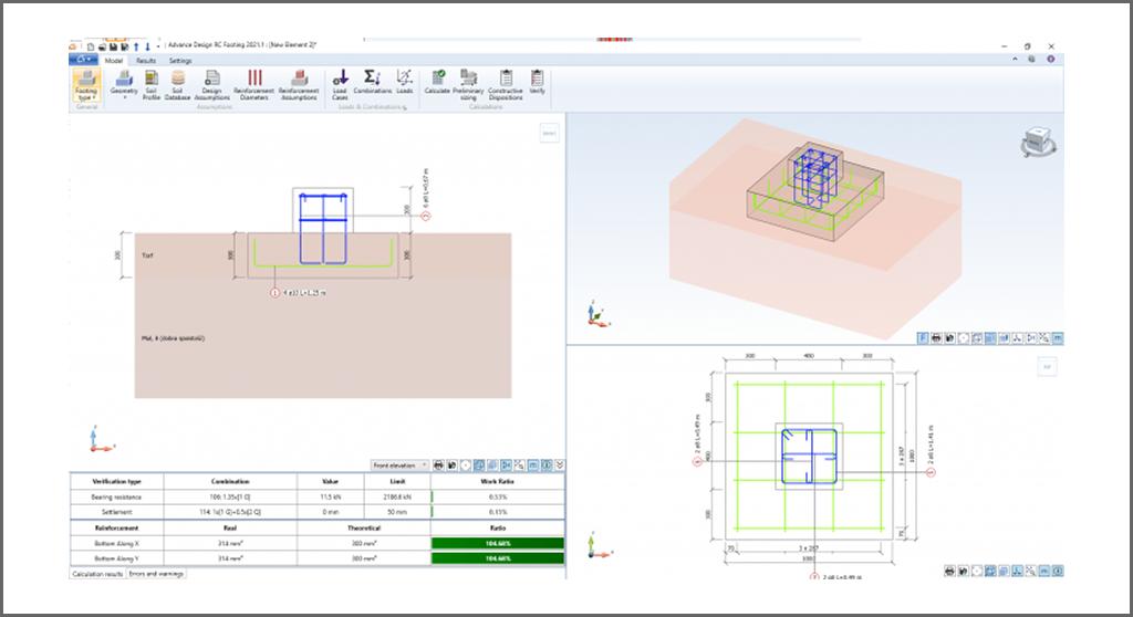 Advance Design Reinforced Concrete Module