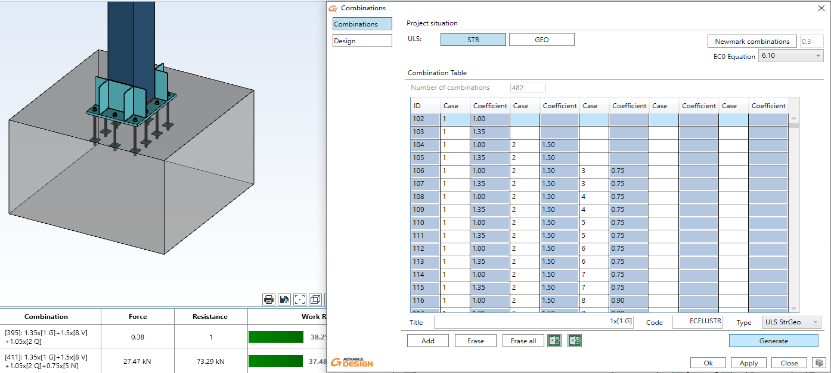 GRAITEC Advance Design 2022 - INCREASED CAPABILITY OF 3D REINFORCEMENT GENERATION