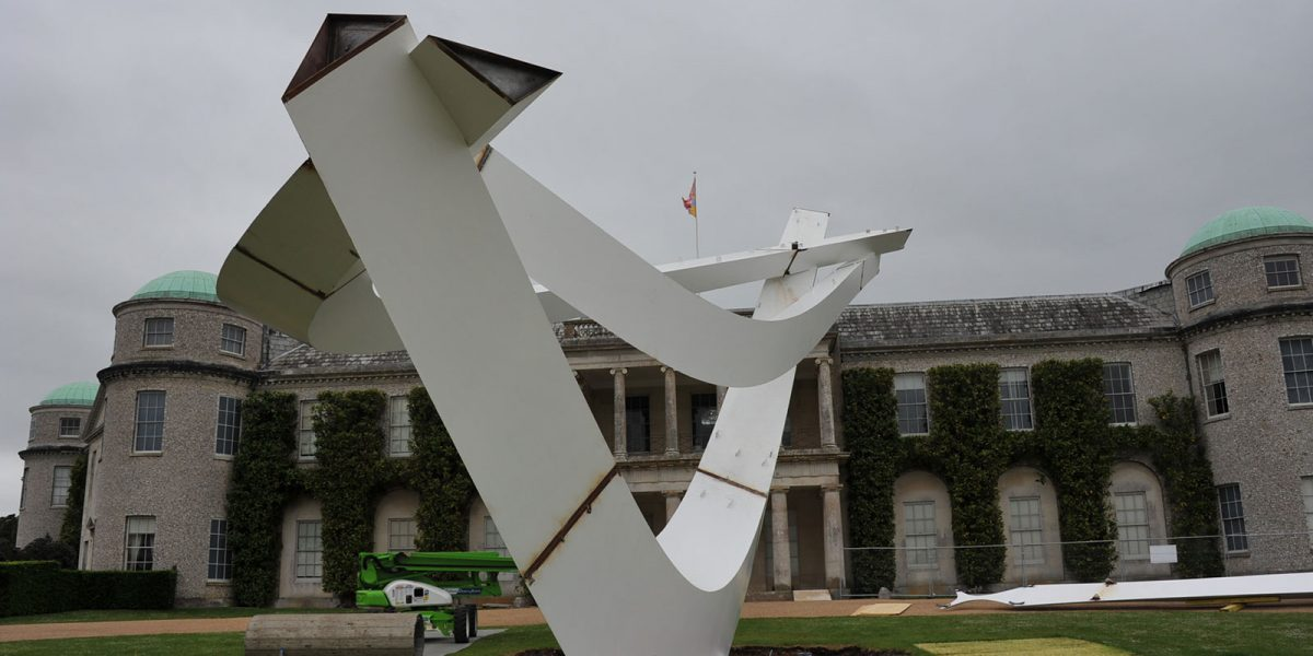 BMW Sculpture at Goodwood Festival of Speed 2016 – by Diales